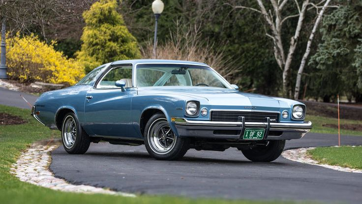 1973 Buick Gran Sport Stage 1 F101 Indy 2017 Buick
