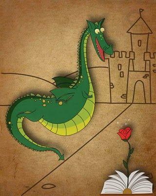 dragón lector