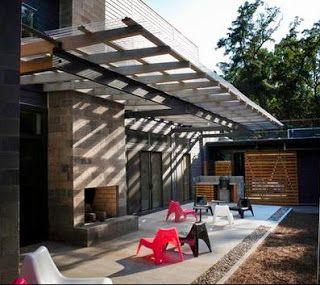 Las 25 mejores ideas sobre techo policarbonato en for Diseno techos para terrazas
