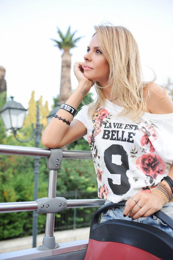 Elena Galifas in La vie est belle!!!! #coolurstyle