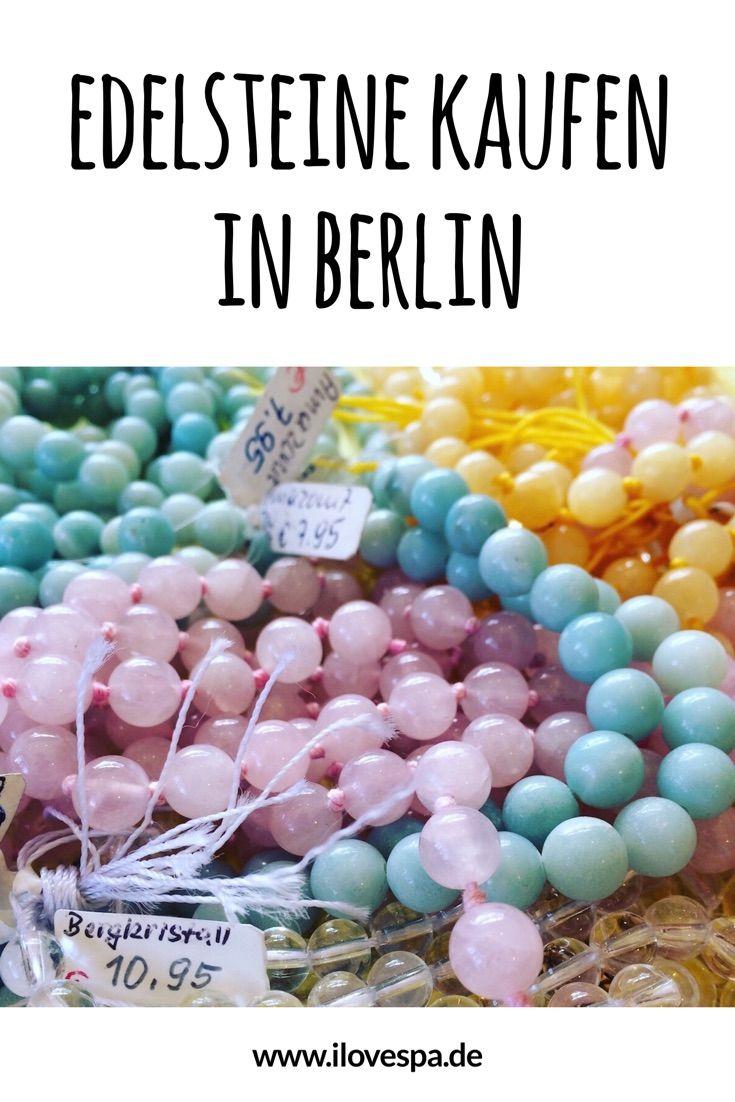 Shopping Tipp für Spirit Junkies! Edelsteine kaufen in der Stein-Insel Berlin