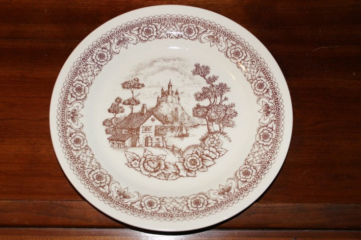 """Lozapenco chile, 9"""" dinner plate, 1 available, Southern Vintage Classic China Collection Rentals"""