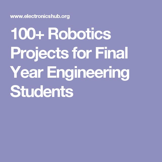 electrical projects for engineering students Top list of electronics engineering projects for students and hobbyists we are listing here the most sought electronics mini projects of electrical engineering.