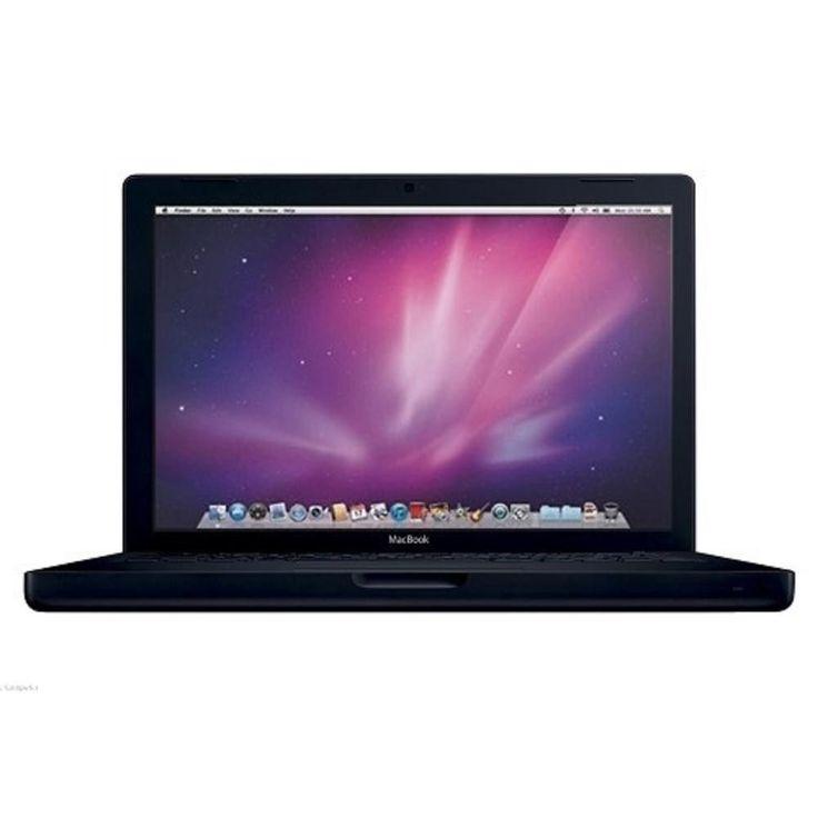 Apple MacBook Core 2 Duo T7400 2.16GHz 1GB 160GB DVD±RW 13.3 Notebook AirPort OS X w-Webcam (Mid 2007) (Black)