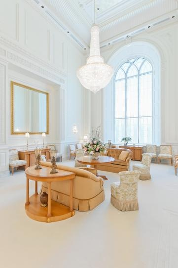 Celestial room in Brigham City Temple
