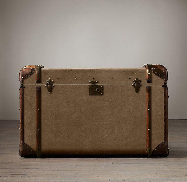 Vintage Trunk Storage-25 Stylish Essentials That Will