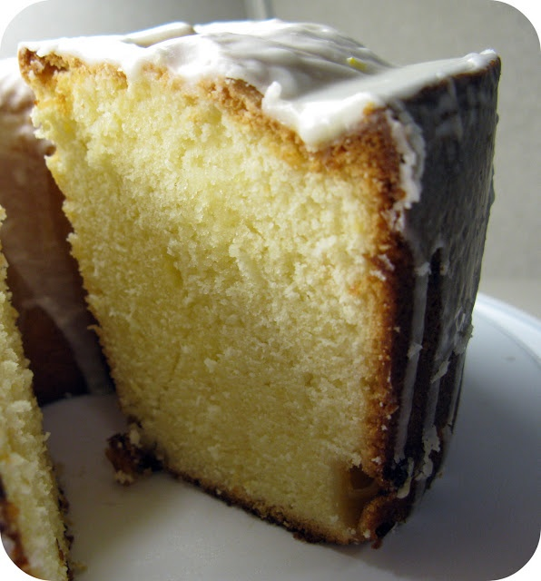 """better than starbucks"" lemon pound cake. made with fresh lemons, no extracts!"