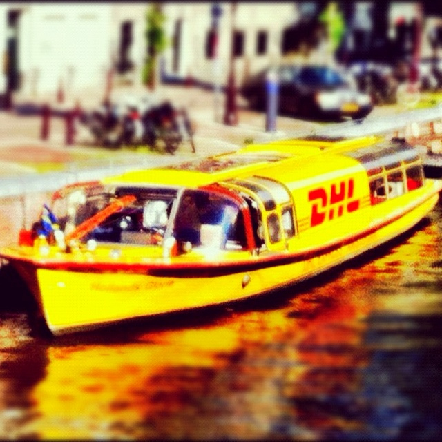 DHL Amsterdam Canalboat