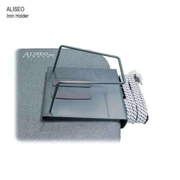 Aliseo Iron Holder. It's a great way to store your iron and it keeps your iron off the floor. You can store it with your ironing board making it stay clean.   Contact us during office hours to purchase.