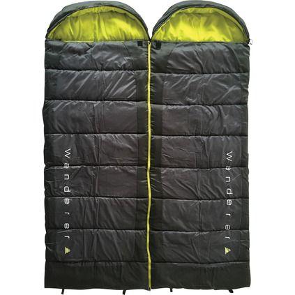 Wanderer Scorch Hooded Sleeping Bag Duo Pack, 0C