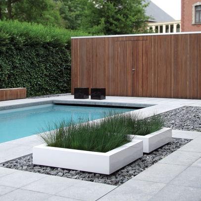 Low maintenance pool surrounds