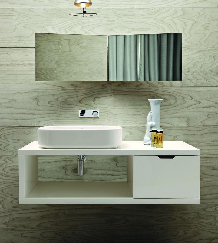 Walnut storage units - Bathroom Furniture   Azzurra Ceramica S.p.A.