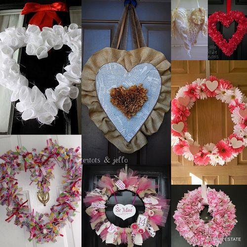 wreaths: Decor Wreaths, Crafts Ideas, Decor Ideas, Pretty Wreaths, Wreath Ideas, Creations Wreaths, Valentines Wreaths Ideas, Style Estates, Create Wreaths