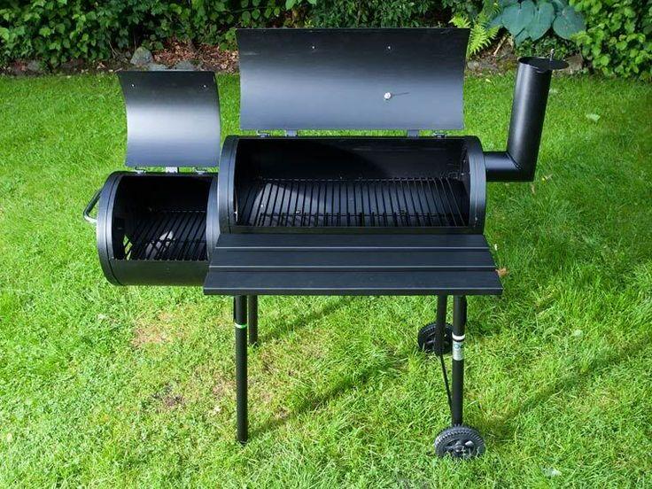 Amerikai Barbecue Grill-Hordó/füstölő 1FT NMÁ!!!!! - Vatera.hu