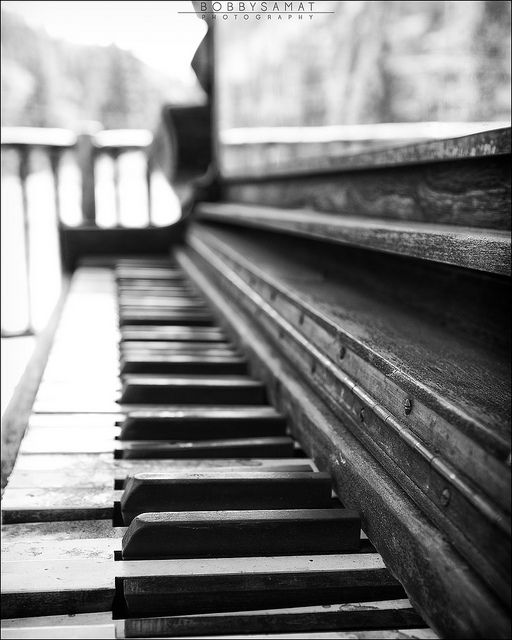 a lot of people don't know this but I've been playing the piano since i was 7 :)... rusty but i know how to read and play