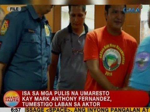 UB: Isa sa mga pulis na umaresto kay Mark Anthony Fernandez, tumestigo laban sa aktor - WATCH VIDEO HERE -> http://philippinesonline.info/aldub/ub-isa-sa-mga-pulis-na-umaresto-kay-mark-anthony-fernandez-tumestigo-laban-sa-aktor/   Unang Balita is the news segment of GMA Network's daily morning program, Unang Hirit. It's anchored by Rhea Santos and Arnold Clavio, and airs on GMA-7 Mondays to Fridays at 5:15 AM (PHL Time).  For more videos from Unang Balita, visit