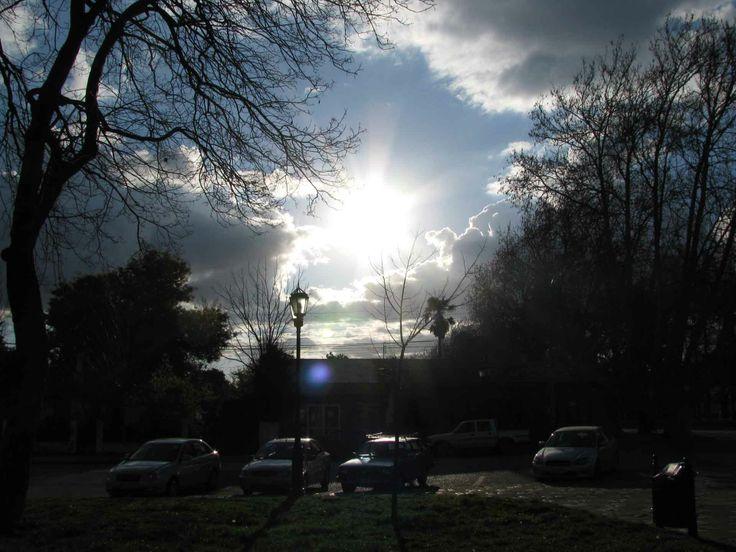 Cielo de la tarde en Chillán. // Afternoon sky in Chillán. (VIII Región)