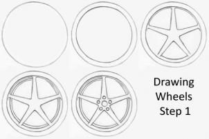 How to Sketch a Car, Step by Step, Cars, Draw Cars Online ...