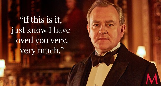 Downton Abbey Season 6 Episode 5 .. Hugh Bonneville ..Nooooooooooo!..