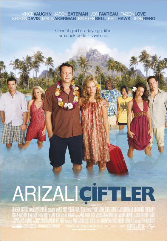 Arizali Ciftler - Couples Retreat - 2009 - DVDRip Film Afis Movie Poster