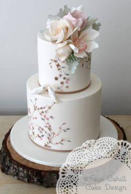 Faye Cahill Cake Design Wedding Cake Inspiration