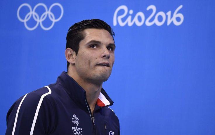 Florent Manaudou - 25 ans, - Médaille d'Argent olympique - finale du 50m. (AFP  Gabriel Bouys) Rio 2016