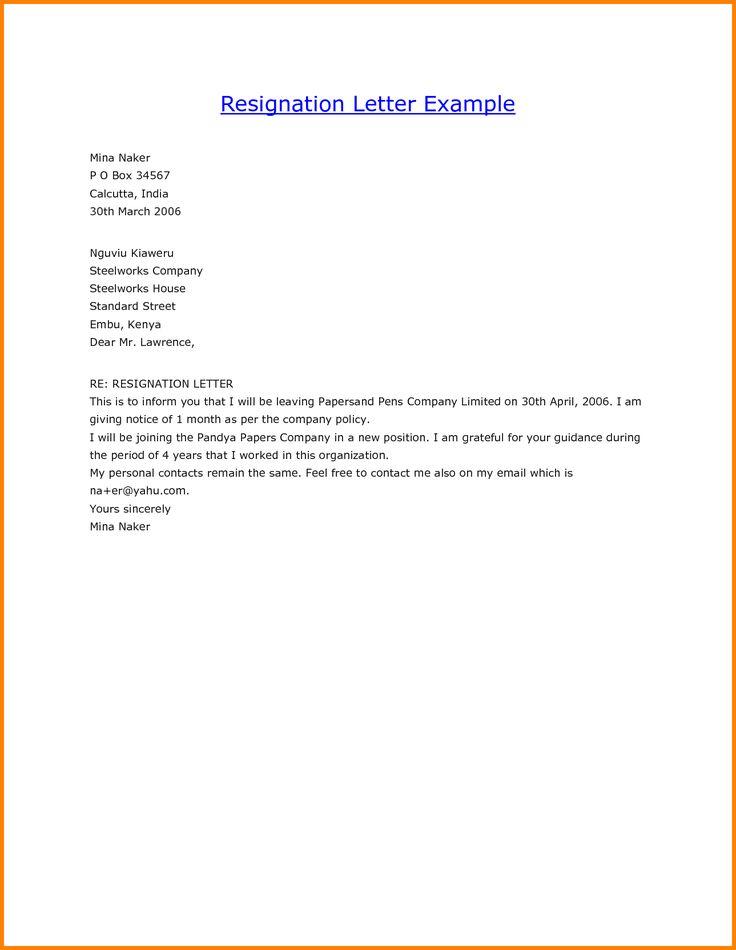 ver letter job resignation template gopitch model resigng sample doc jpg
