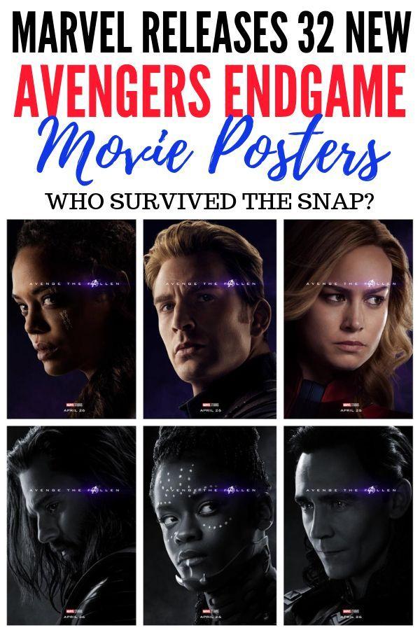 Avenge The Fallen New Avengers Endgame Posters Reveal Who Survived Lola Lambchops New Avengers Avengers Pictures Avengers