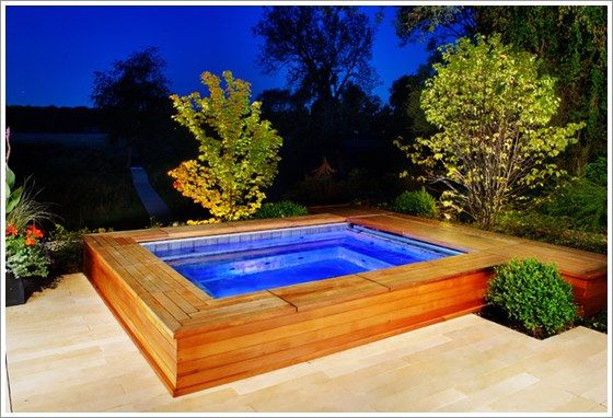 Best 25 small backyard pools ideas on pinterest for Ideas para piscinas intex