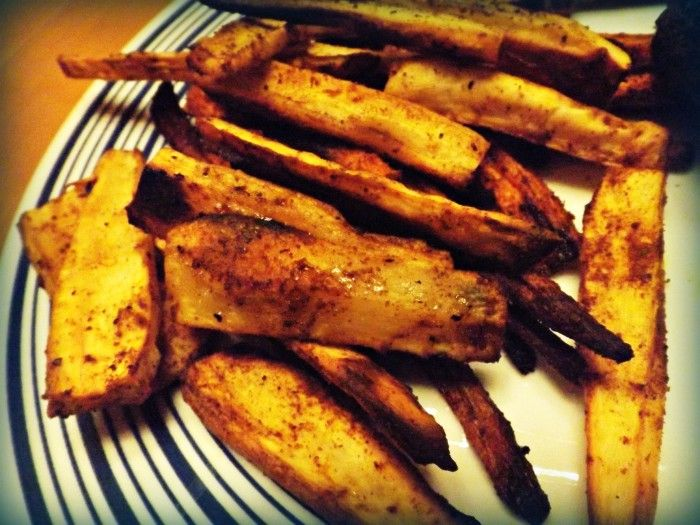 Curry Roasted Parsnip Fries | Recipe