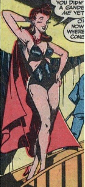 Cyanide Cindy, villain, Quality Comics