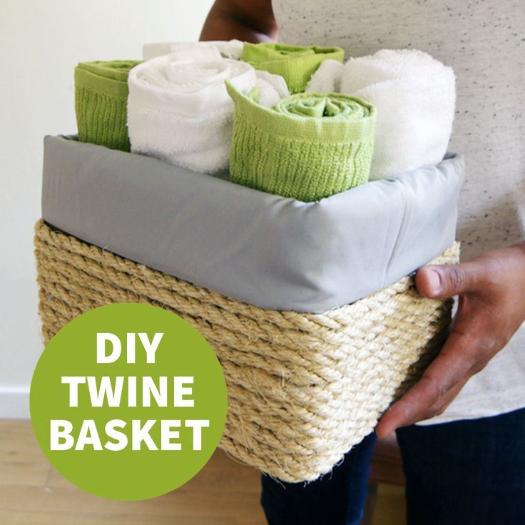 Turn a boring cardboard box into attractive storage—on a budget!