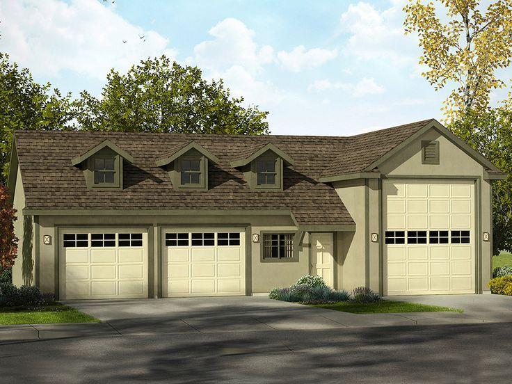 The Garage Plan Shop Blog 5 New Rv Garage Plans For Your Rv With Images Rv Garage Garage Design Garage Shop Plans