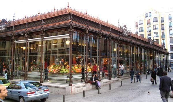 Market San Miguel Madrid, Spain  One of my Favorite food markets