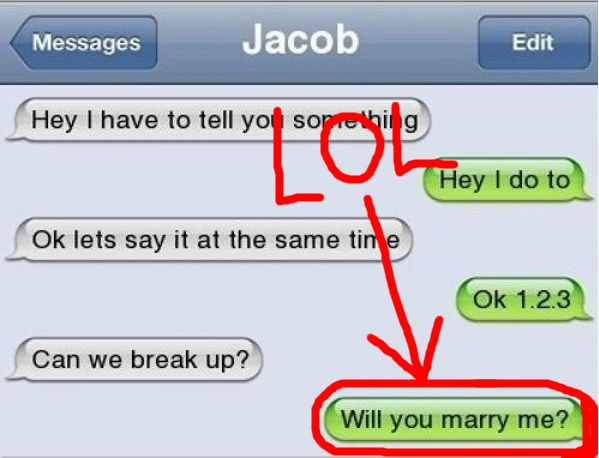 23 Best Funny Break Up Texts Of All Time