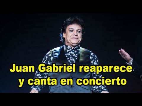 Juan Gabriel reaparece y canta en concierto los angeles california 🔴 | N...