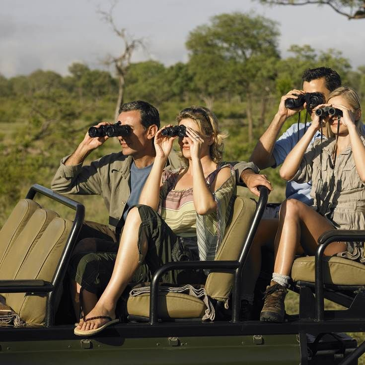 Experience a Safari at Kruger National Park and then a tour of jaw-dropping Victoria Falls.
