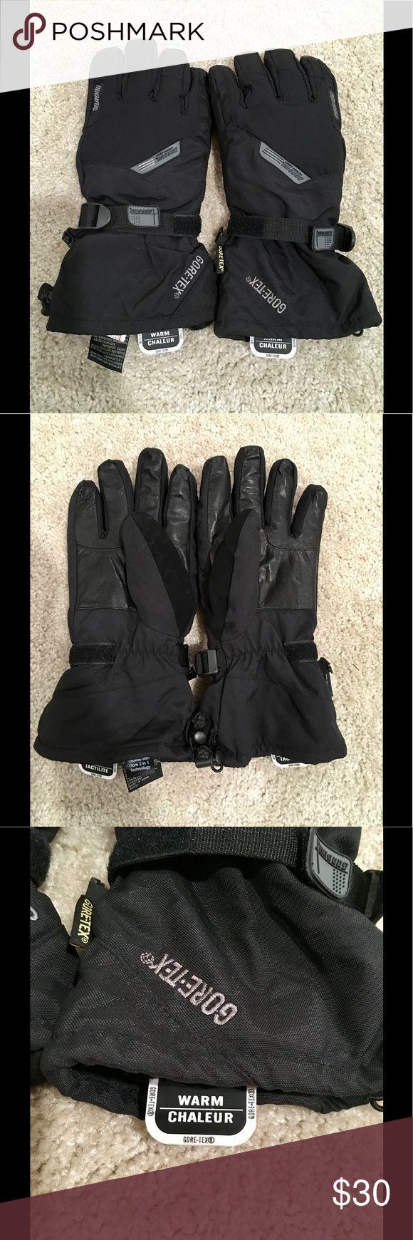 Gordini Gore-Tex Men's Ski/Snow Gloves NWOT Men's Gordini Gore-Tex snow/ski gloves. Waterproof, insulated with fleece lining. Size extra large. Gordini Accessories Gloves