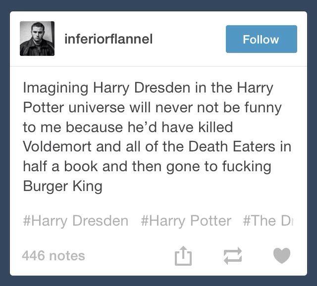 Dresden Files; Harry Dresden