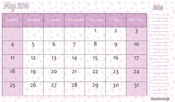 The 23 Best Calendar Template Images On Pinterest Free Printable