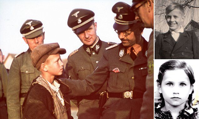A moving exhibition has opened in Germany chronicling the fate of 300,000 children stolen by the Nazis to become 'Aryan' citizens of the Third Reich.