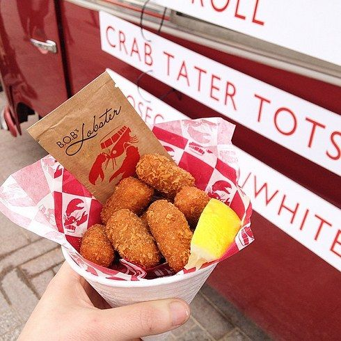 London - Crab Tater Tots ... a real must try...!  #RePin by AT Social Media Marketing - Pinterest Marketing Specialists ATSocialMedia.co.uk