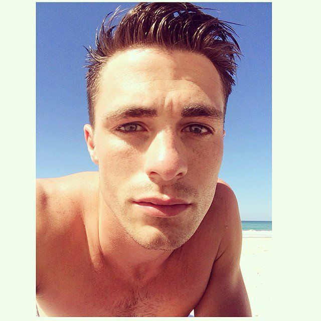 Pin for Later: 28 Instances in Which Colton Haynes's Beauty Was Borderline Painful This Sunny Selfie