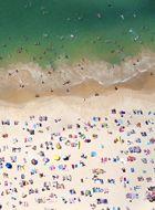 .Beach Horizontal, Photographers Image, Maison Gray, Art Prints, Gray Photography, Gray Malin, Coogee Beach, Plage Collection, Pretty Art