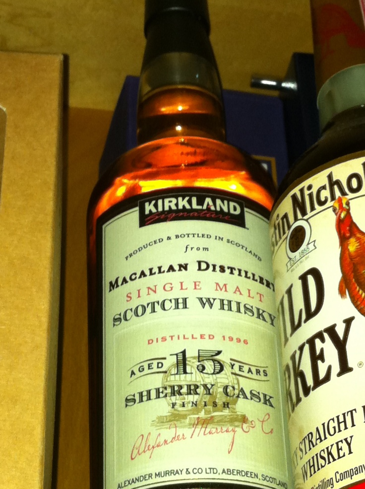This Bottle Of Kirkland Brand 15 Year Old Single Malt