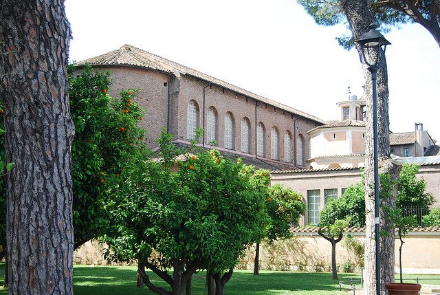 Santa Sabina - this Early Christian church is located on the Aventine Hilll and is worth the trek.  it is beautiful in its simplicity and is situated next to the park called the Orange Grove which affords a stellar view of the city.