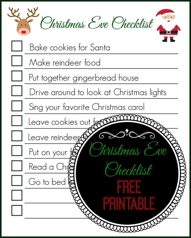 activities to do on christmas eve view source - Christmas Eve Activities