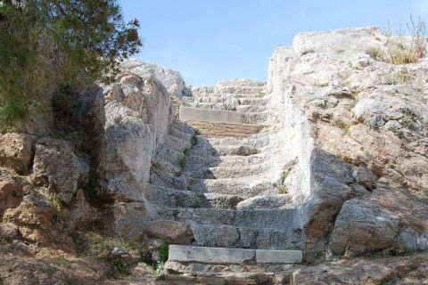"""3. Areopagus - The place where the Apostle Paul gave his famous speech. """"Now that you worship as something unknown I am going to proclaim to you. The God who made the world and everything in it is the Lord of heaven and does not live in temples built by hands."""" Acts 17:24"""