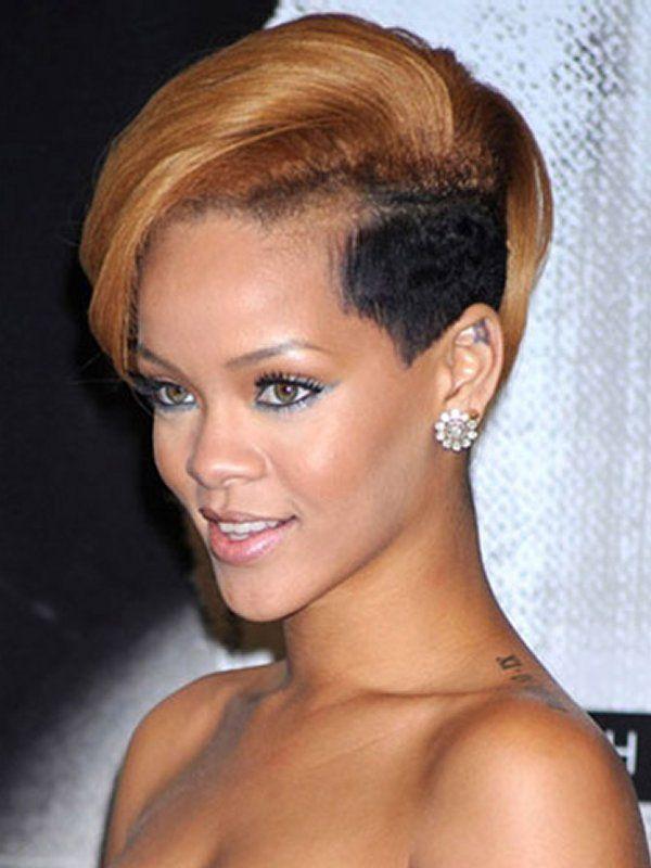 Short Undercut Hairstyles for African American Women 2014