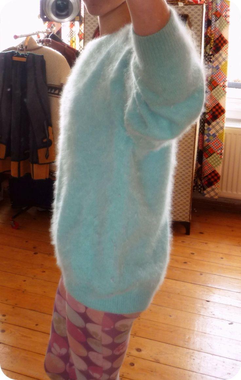 Sexy granny fuzzy sweater — img 2